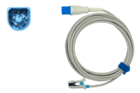 SpO²-Ohrsensor, zu Philips HP D-shaped 8pin, 300 cm
