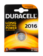 Duracell Lithium Knopfzelle 3 Volt, CR2016