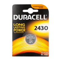 Duracell Lithium Knopfzelle 3 Volt, CR2430